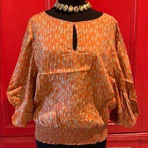 Michael Kors Silk blouse. Beautiful top for Fall🍁